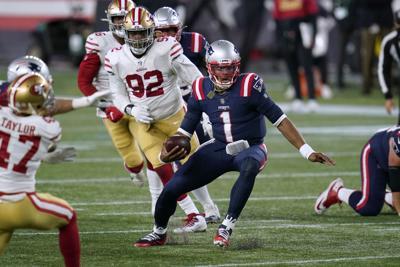 49ers Patriots Football