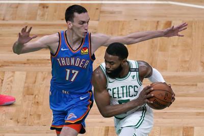 Thunder Celtics Basketball