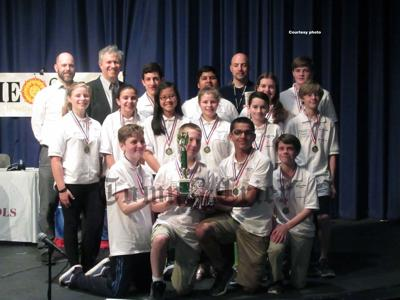 Wynn Middle School Knowledge Bowl team