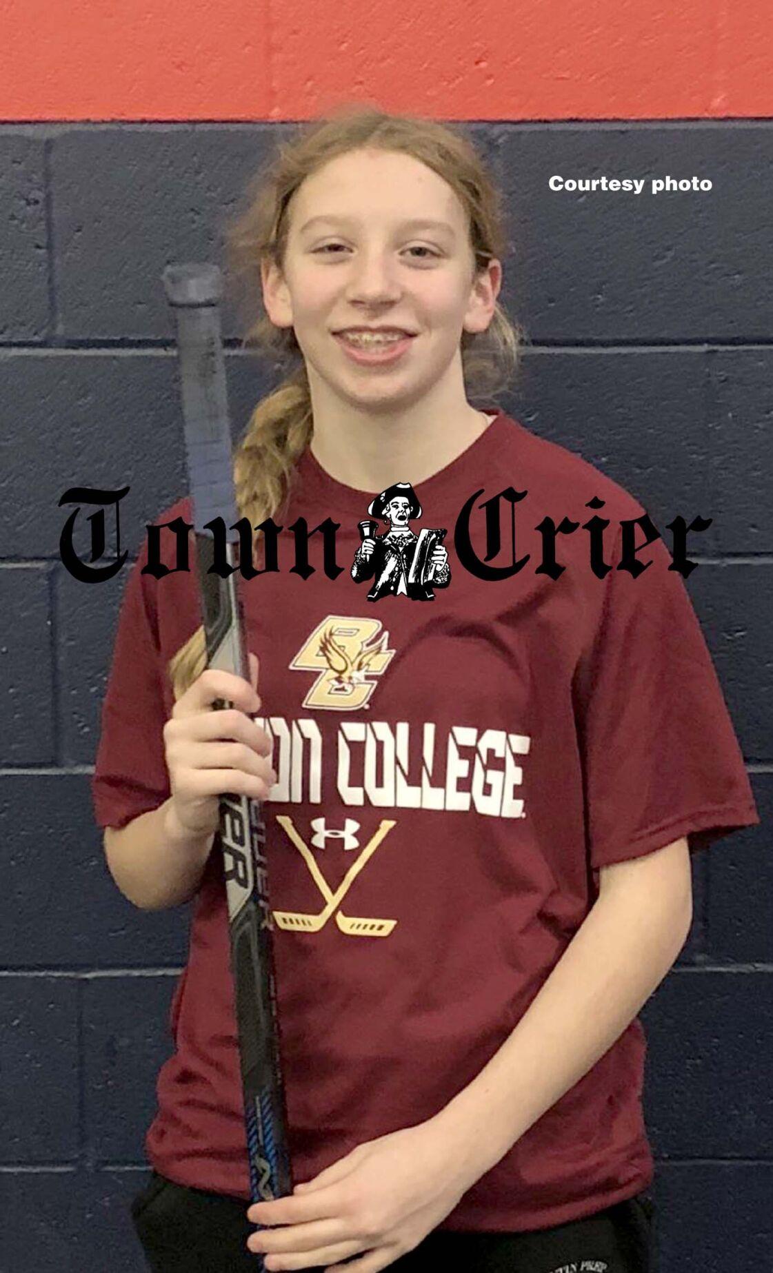 Tewksbury resident Samantha Taber for the Cushing Academy girls' team