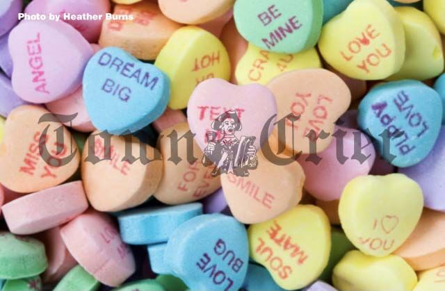 Sweetheart candy sentiments