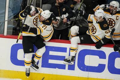 Bruins Capitals Hockey