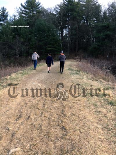 Mill Pond area trail