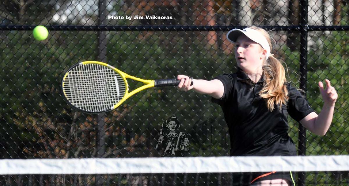 Shawsheen's Doubles player Samantha Fusco