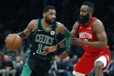 Rockets Celtics Basketball