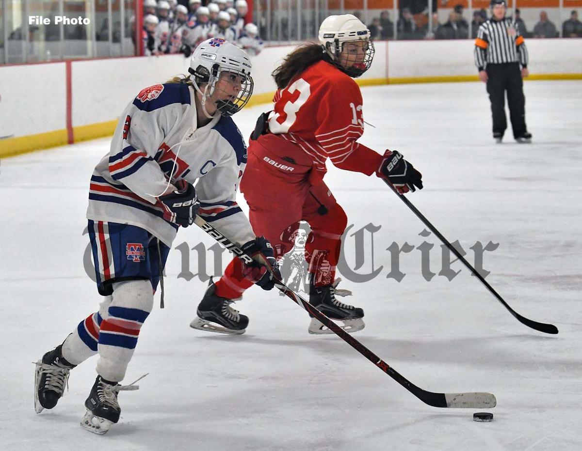 Kelly Golini — Crier's Girls All-Decade ice hockey team