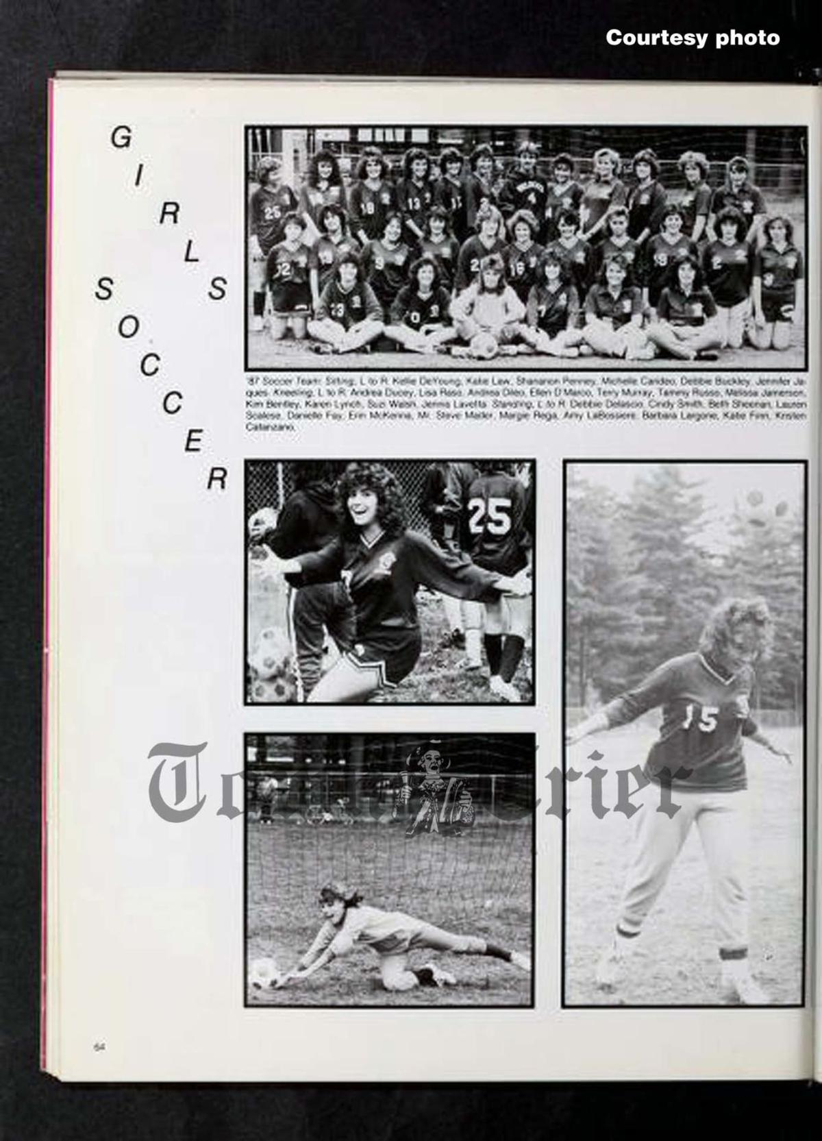Page from the WHS Yearbook from the Graduating Class of 1988