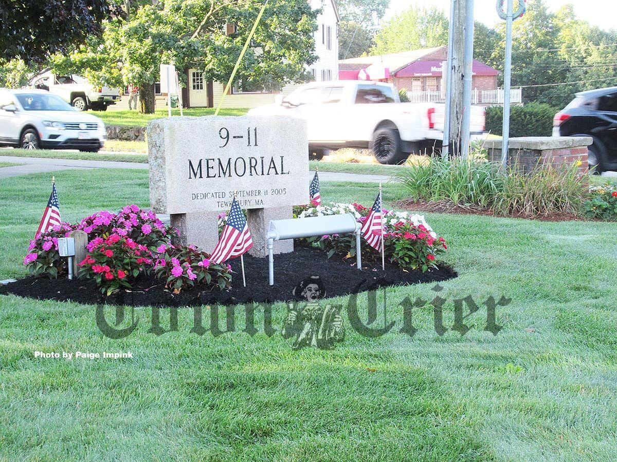 Tewksbury's 9-11 memorial