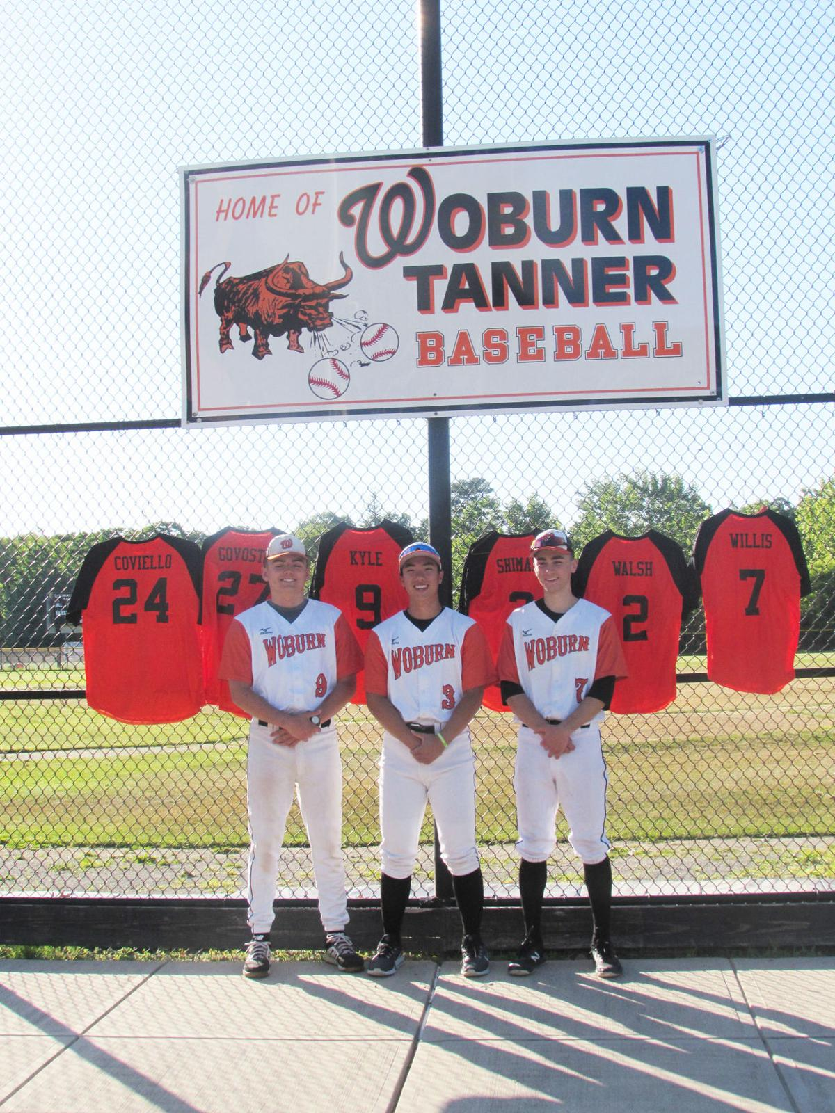 Woburn baseball captains