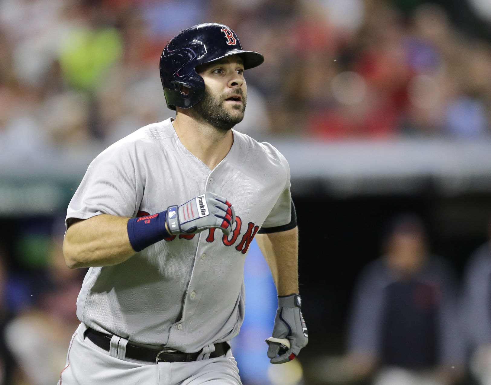 Moreland, Pomeranz lead Red Sox past Kluber, Indians