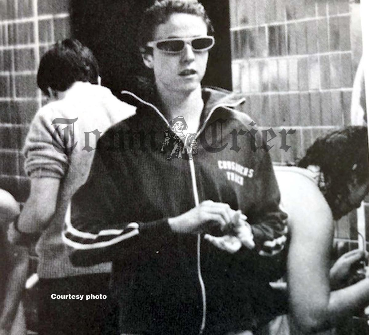 Mary McNaughton-Collins swam at Holy Cross