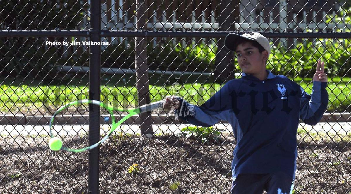 Anay Gandhi for WHS Boys Tennis