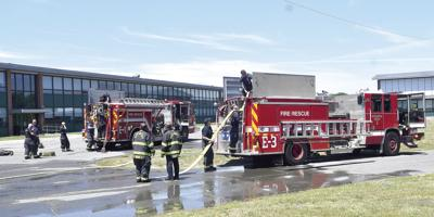 Solar Panels Catch Fire At Marshall Simonds Middle School