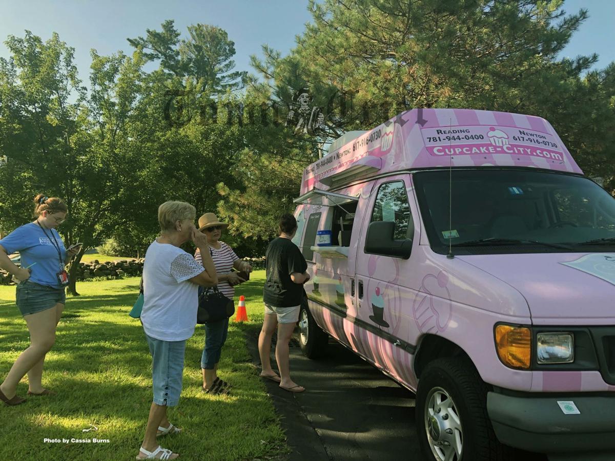 Cupcake City mobile food truck