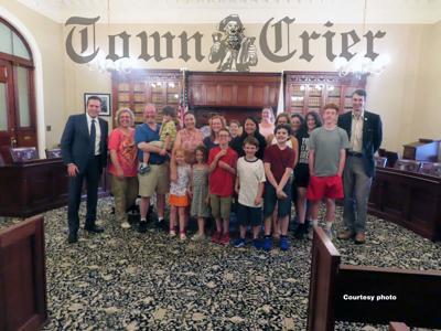 Tewksbury's legislative delegation met with Tewksbury Special Ed PAC
