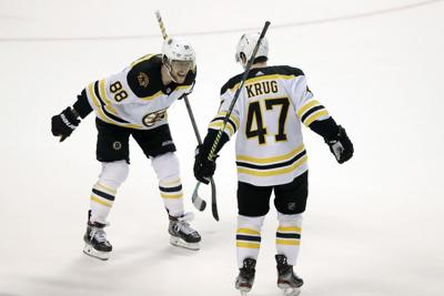 better available quality products Krug scores in OT, Bruins rally past Panthers | Bruins ...