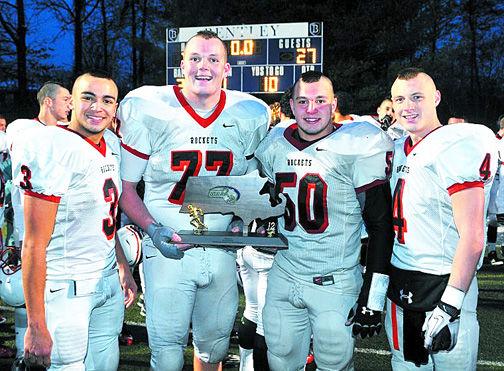 RMHS football captains 2012