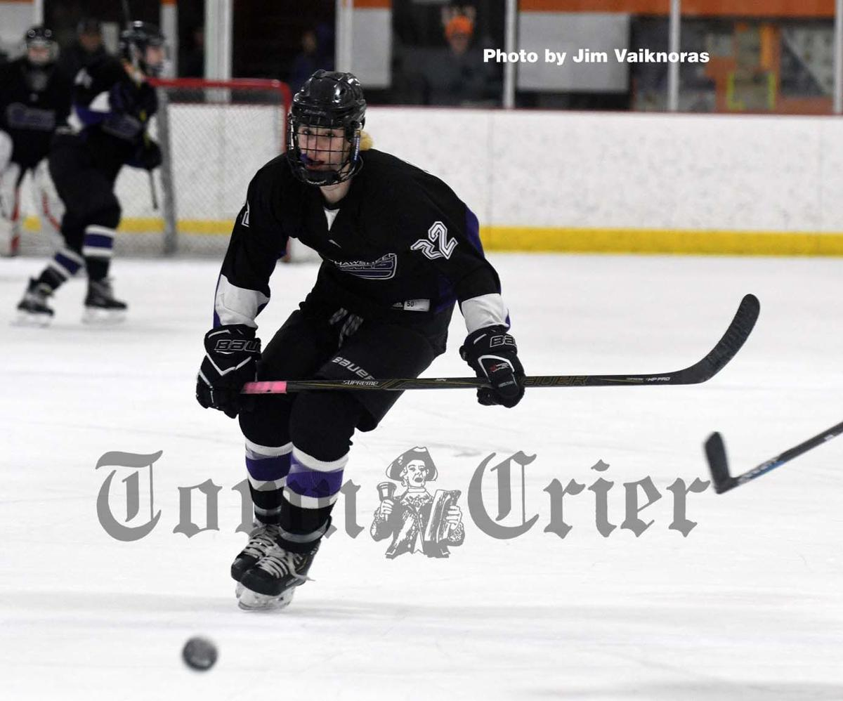 Shawsheen Tech junior forward Brady McFadden