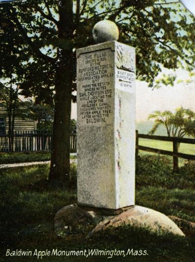 Baldwin Apple Monument