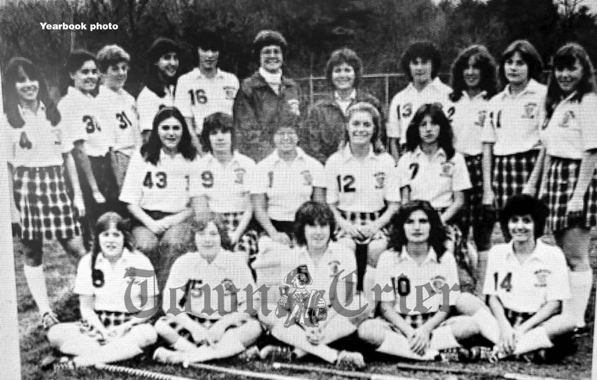The WHS Field Hockey team of 1981