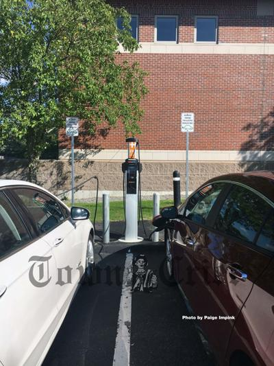 EV stations at Tewksbury Public Library