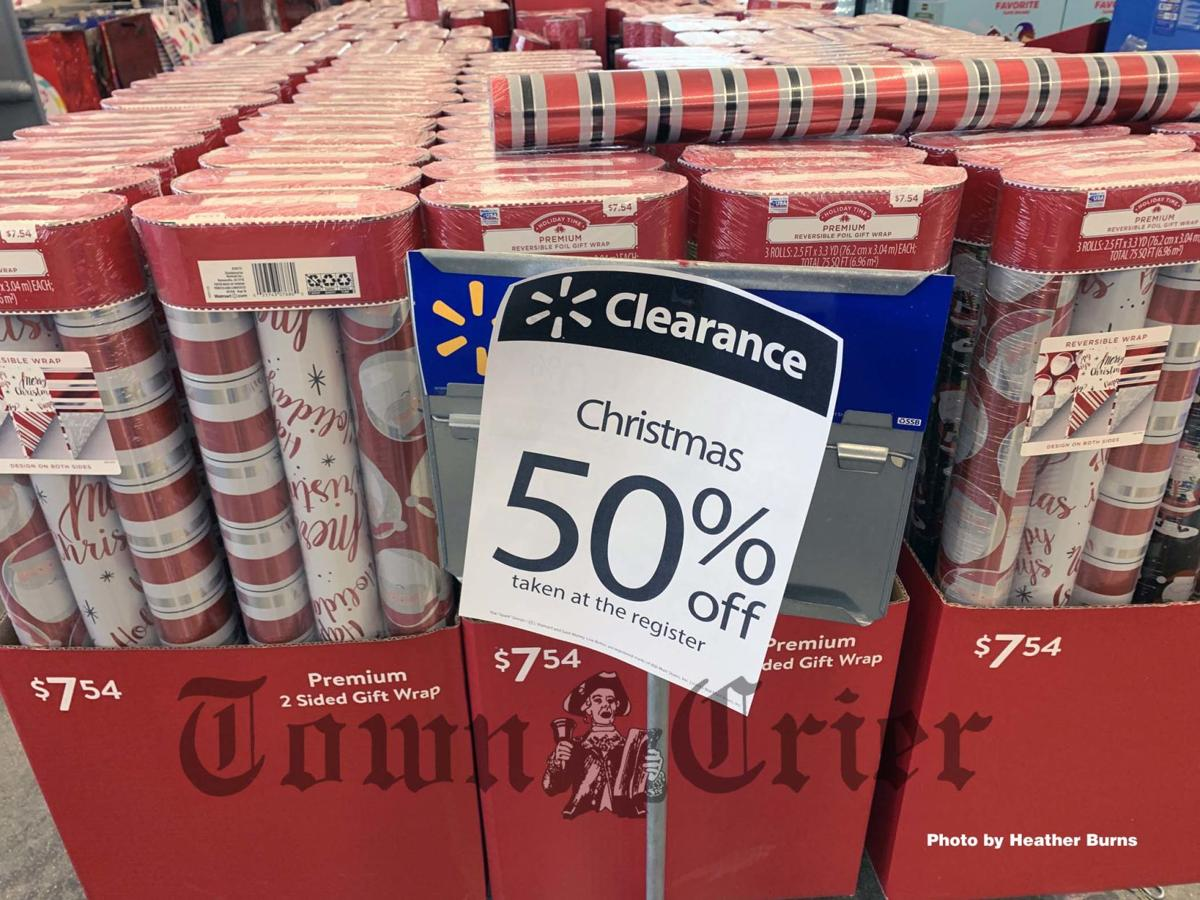 Save on Christmas wrapping paper now