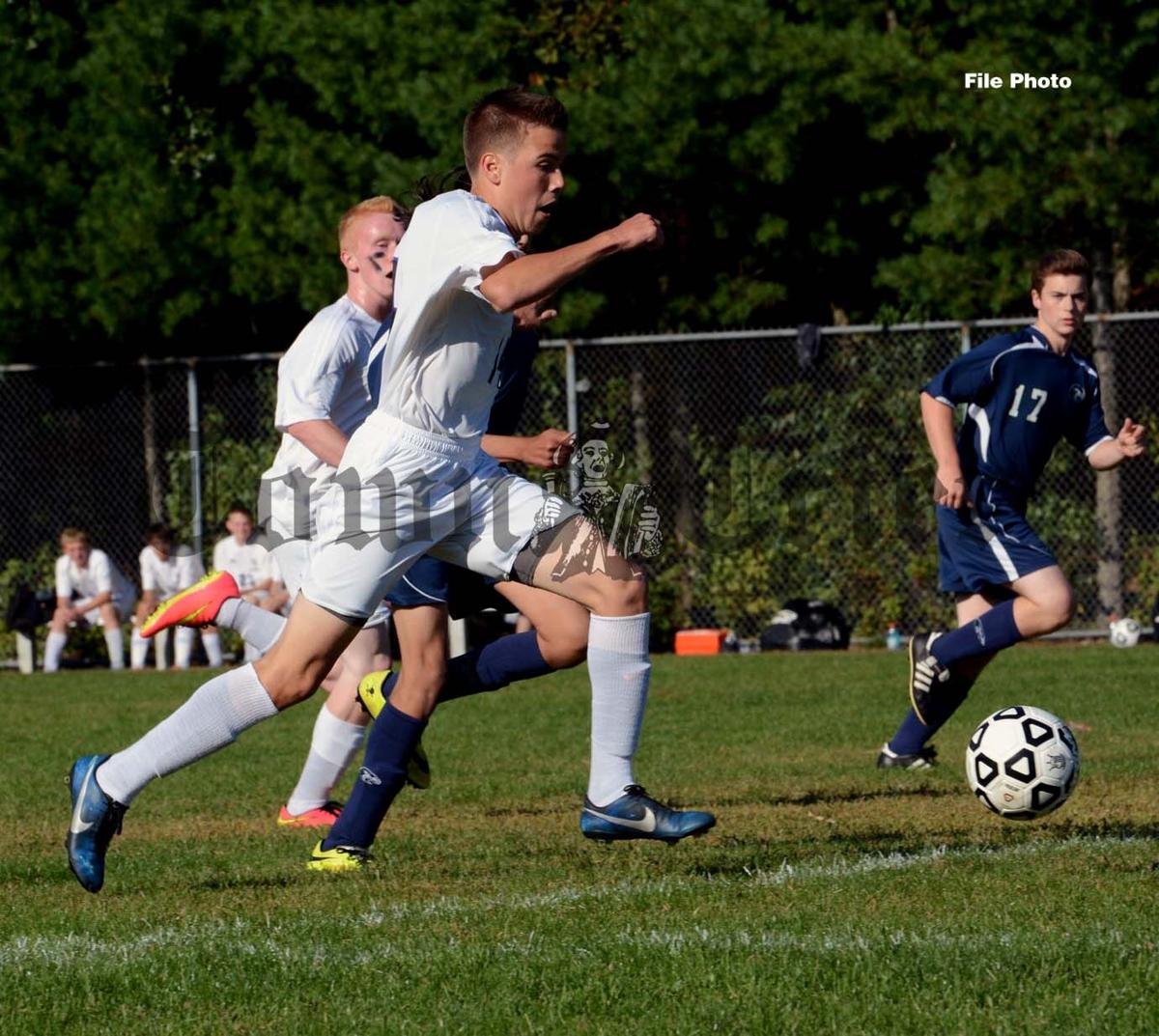 Christian Lucchesi of Shawsheen Tech Boys' Soccer All-Decade team