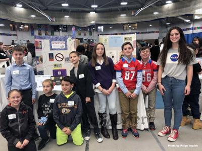 Ryan School students participated in the STEM WEEK Challenge in Boston
