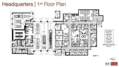 Woburn fire headquarters floor plan