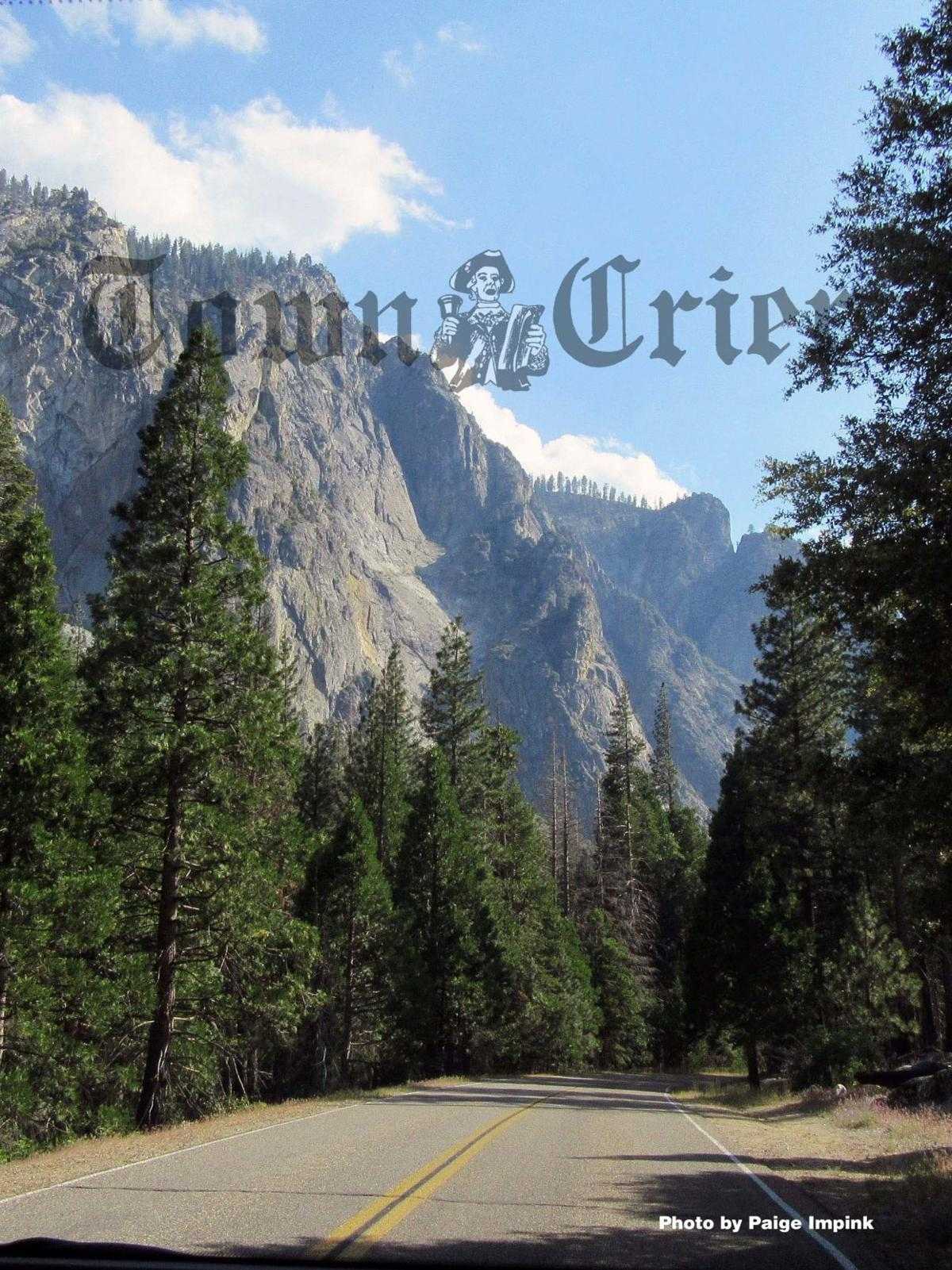 A view from the Kings Canyon Scenic Byway