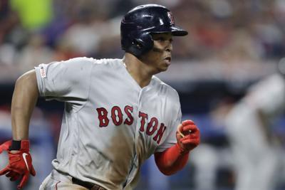 Red Sox Indians Baseball