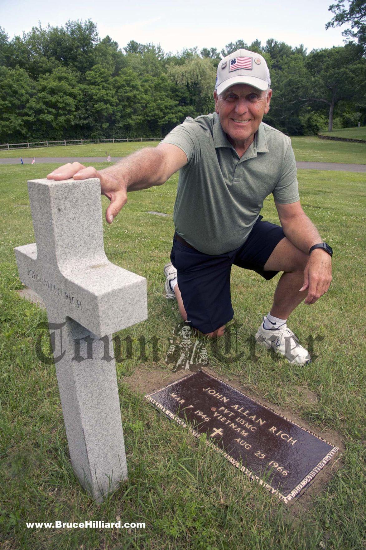 Vietnam vet Fred Shine honors John Allen Rich