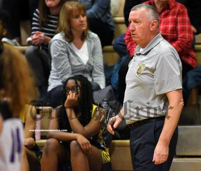 Former WHS Girls Basketball coach Jay Keane