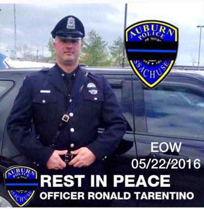 A tribute to Officer Ronald Tarentino