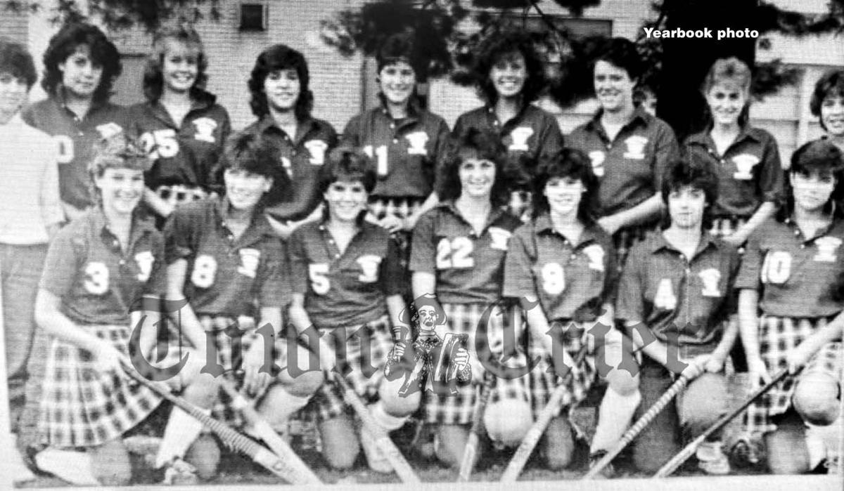 The WHS Field Hockey team of 1984