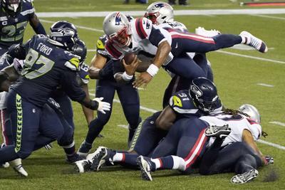 APTOPIX Patriots Seahawks Football