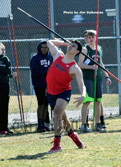 TMHS Senior Lucas Frost — best javelin in the state