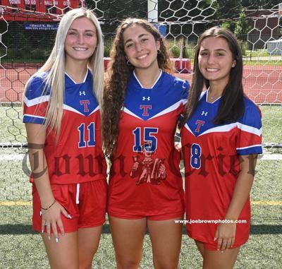 The 2021 TMHS Girls Soccer team tri-captains