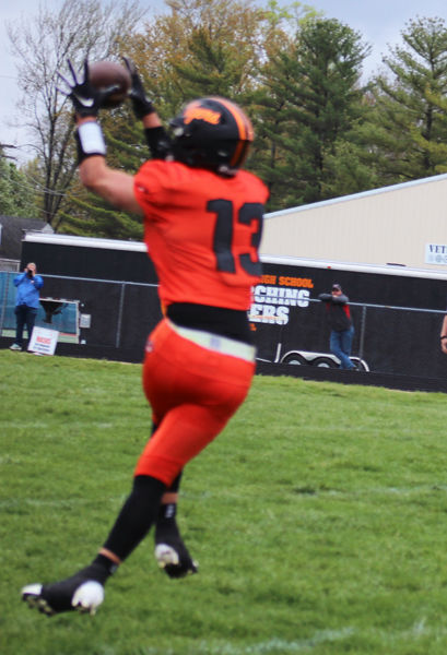 Newton ground game prevails over Olney