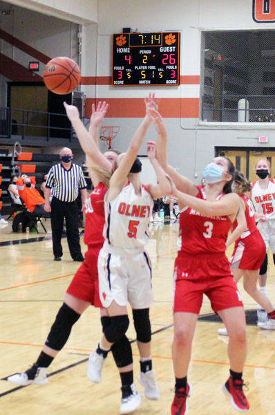 Olney Lady Tigers drop two to Marshall
