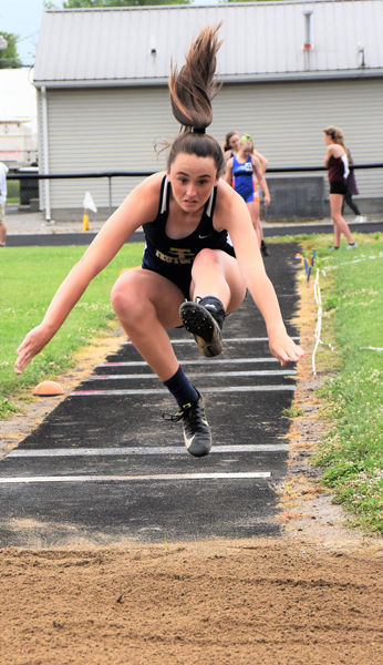 Newton wins Girls Track Sectional with athletes on to State