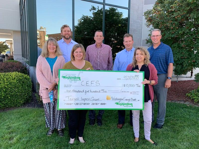 Washington Savings Bank Donates $21,000 to Local Organizations