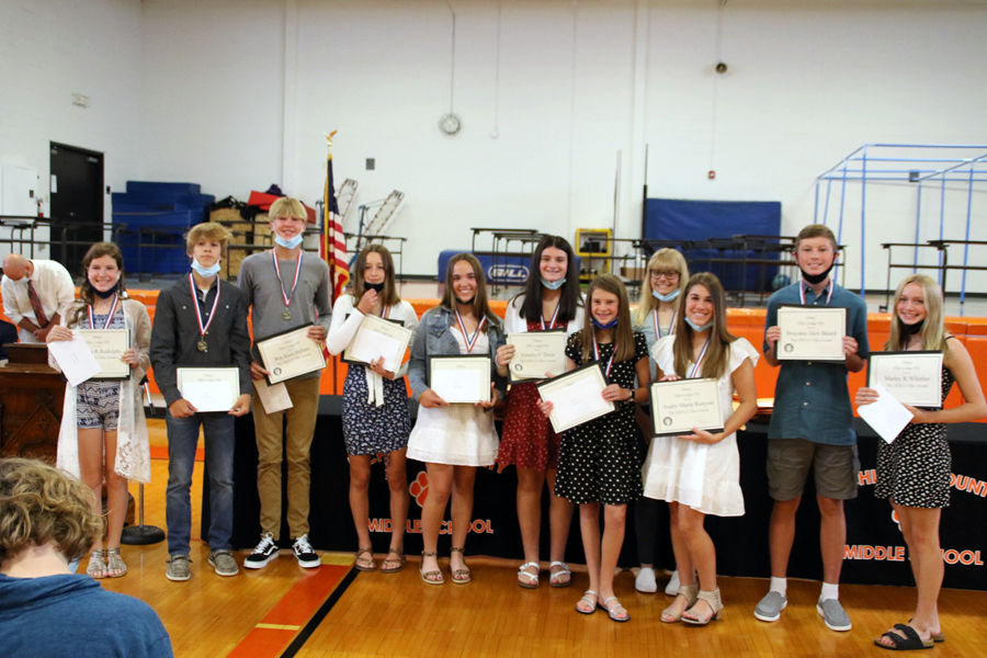 RCMS graduating students honored with awards