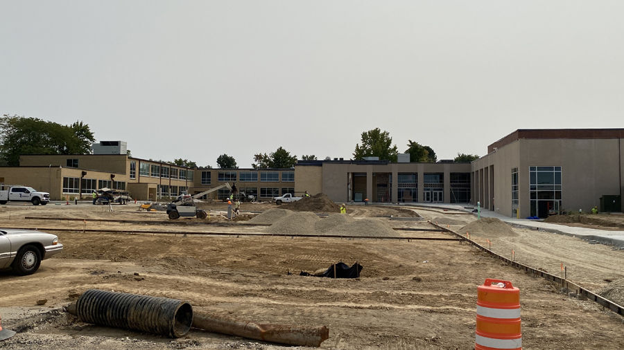 High school renovation project
