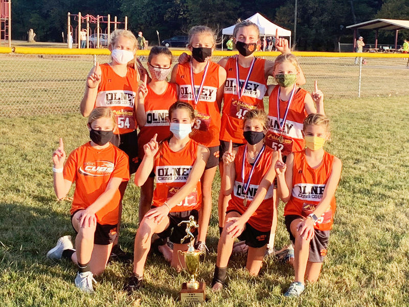 RCMS Lady Cubs XC are SIJHSAA Region 5 Champs