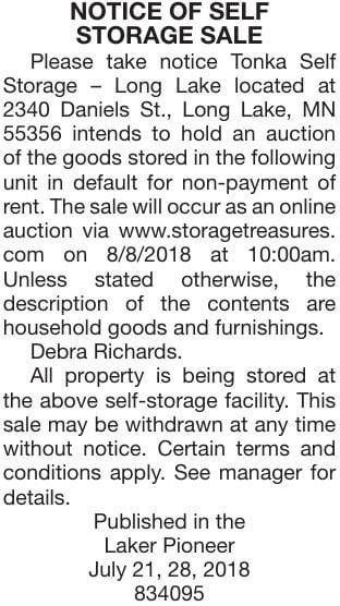August 8 Sale