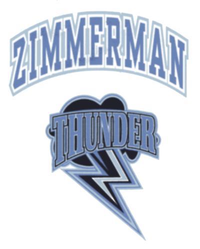Zimmerman thunder mascot
