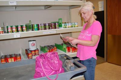 Choice is in at Burnsville food shelf