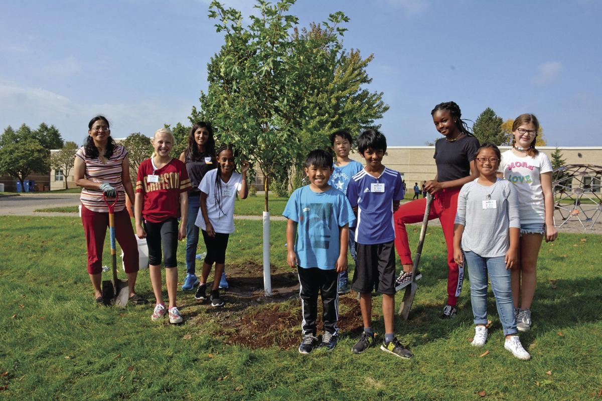 Hennepin County grant helps Weaver Lake Elementary replenish trees