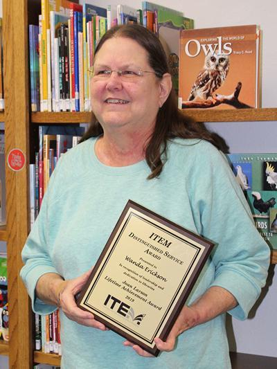 Upsala librarian first to receive the Joan Larson Memorial Award